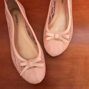 Xappeal Ivory Ballet Flats, Size 7.5